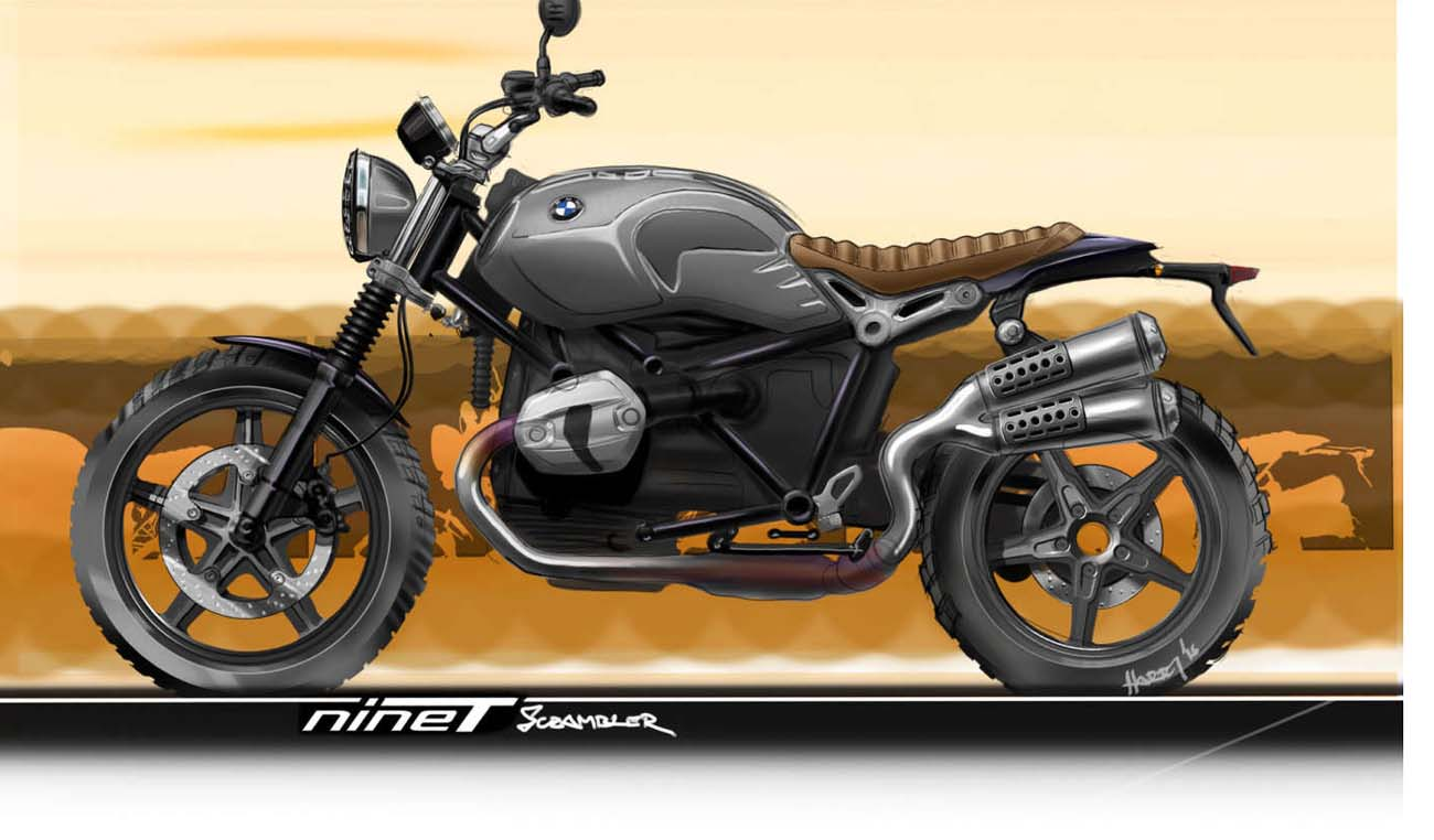 BMW R nineT Scrambler technical specifications